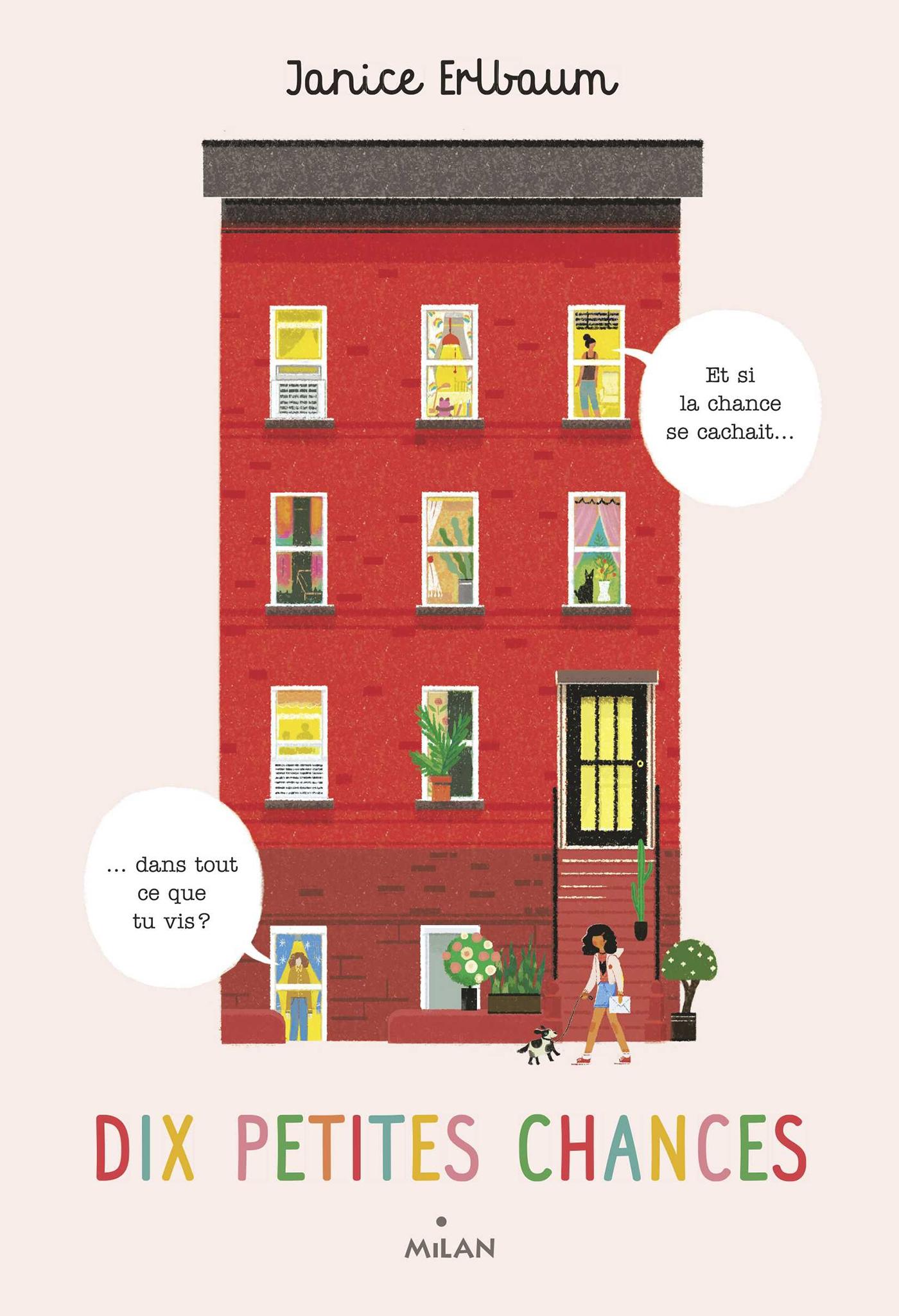Dix petites chances | ERLBAUM, Janice. Auteur