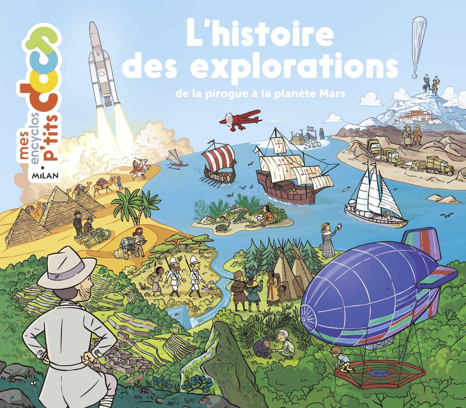 L'histoire des explorations | Ledu, Stéphanie. Auteur