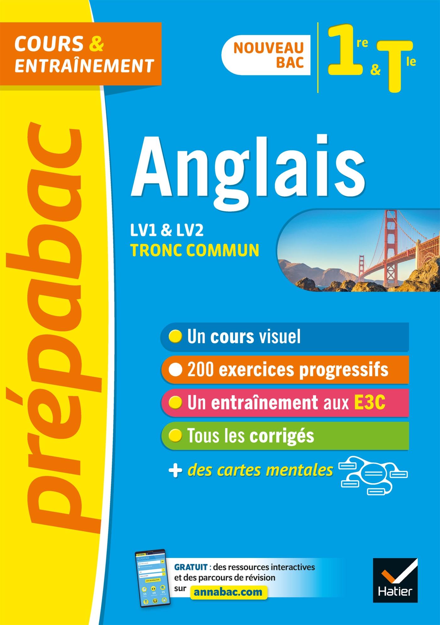 Prépabac Anglais 1re/Tle - Bac 2022 | Béthery-Dostes, Sophie. Auteur