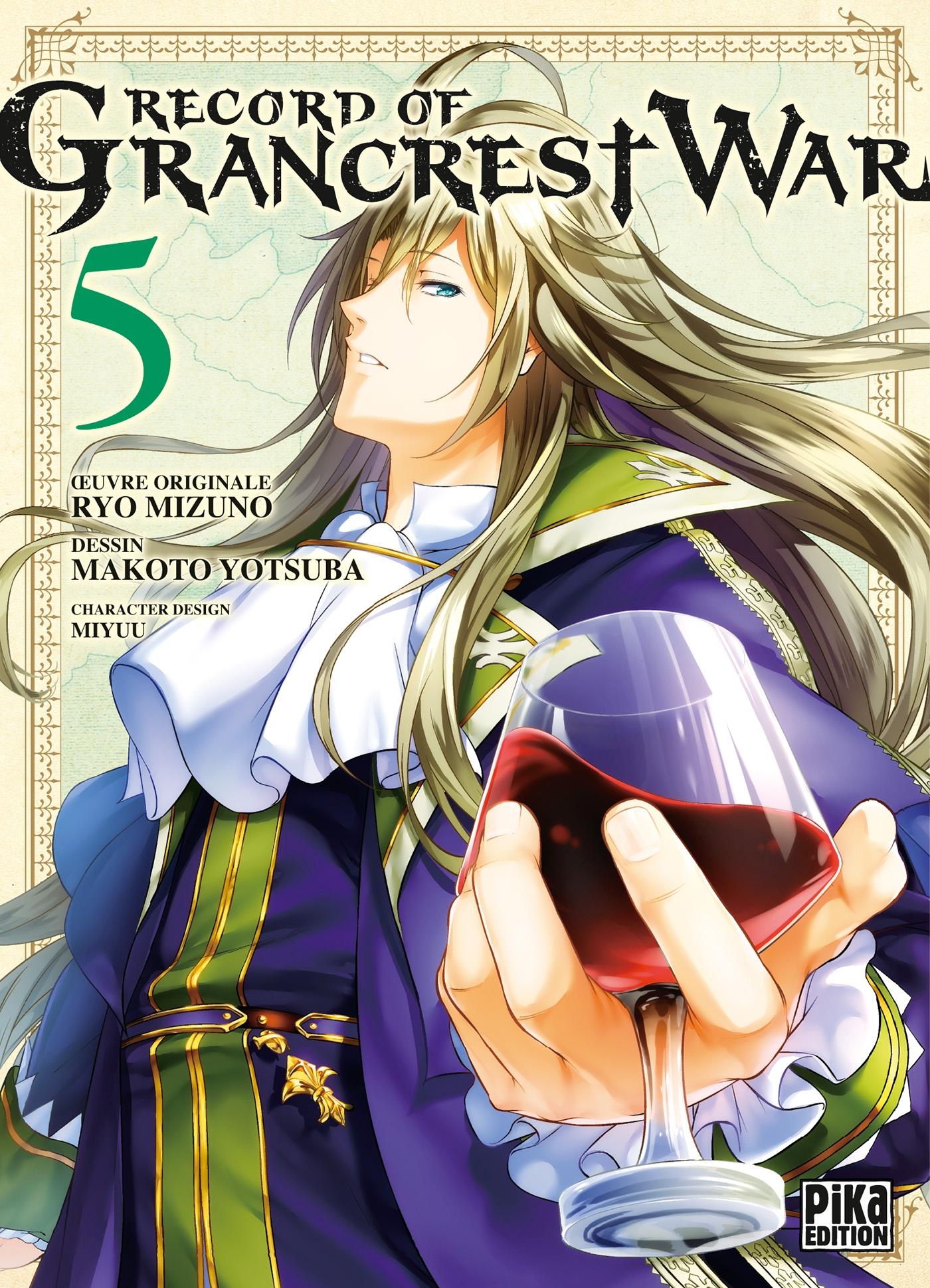 Record of Grancrest War T05 | Mizuno, Ryo. Contributeur