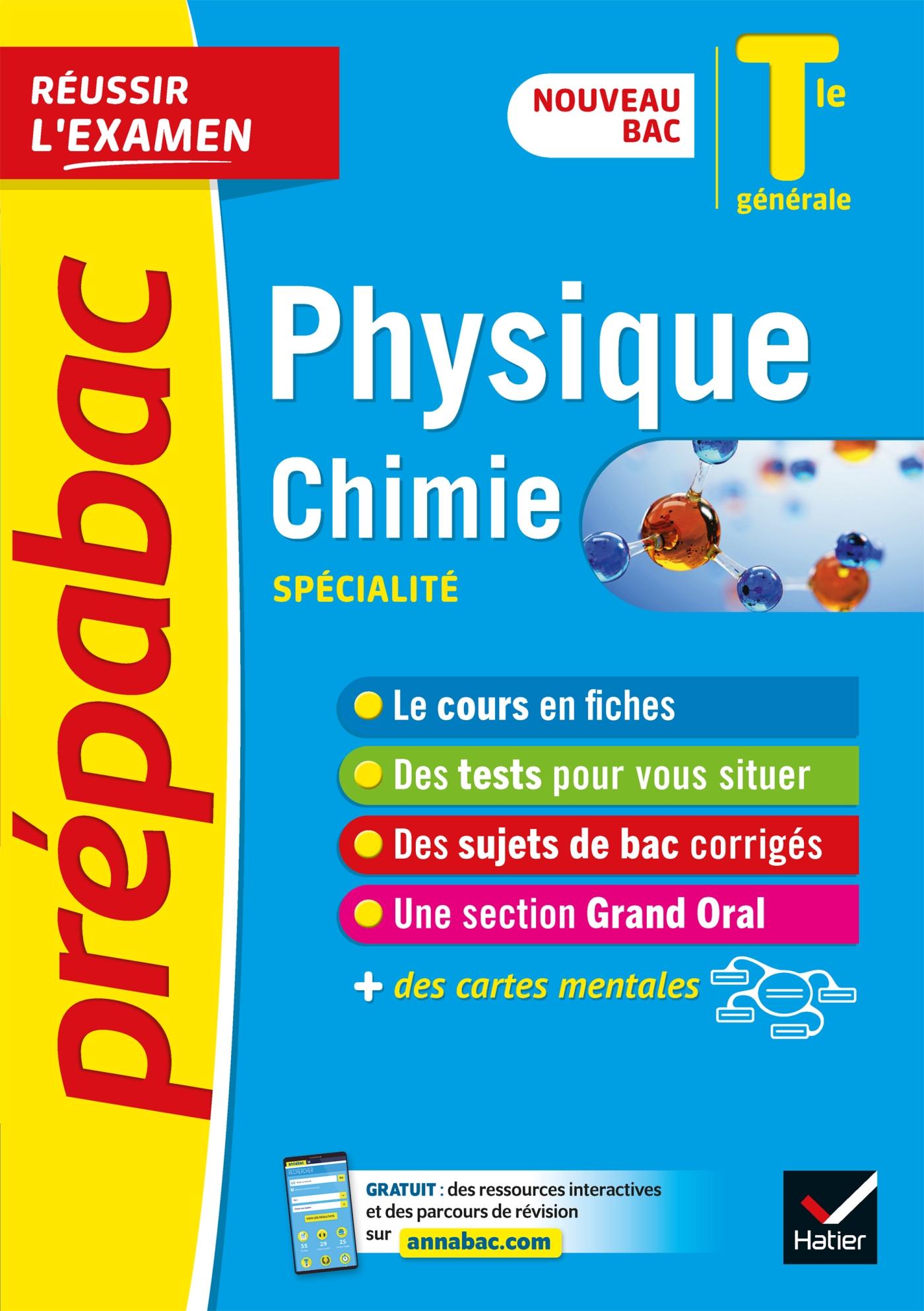 Physique-Chimie Tle générale (spécialité) - Prépabac Réussir l'examen Bac 2022 | Benguigui, Nathalie. Auteur