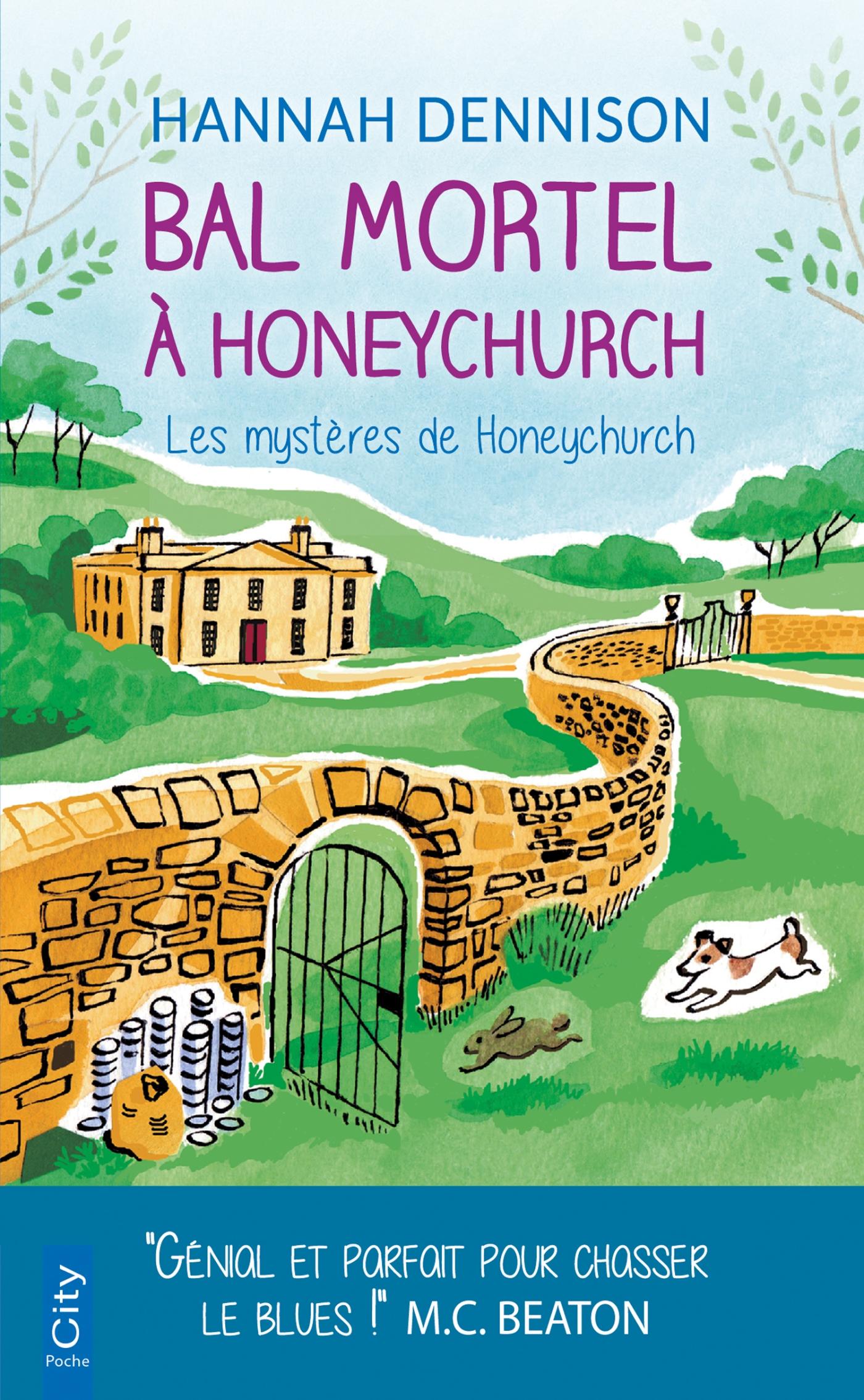Bal mortel à Honeychurch | Dennison, Hannah. Auteur
