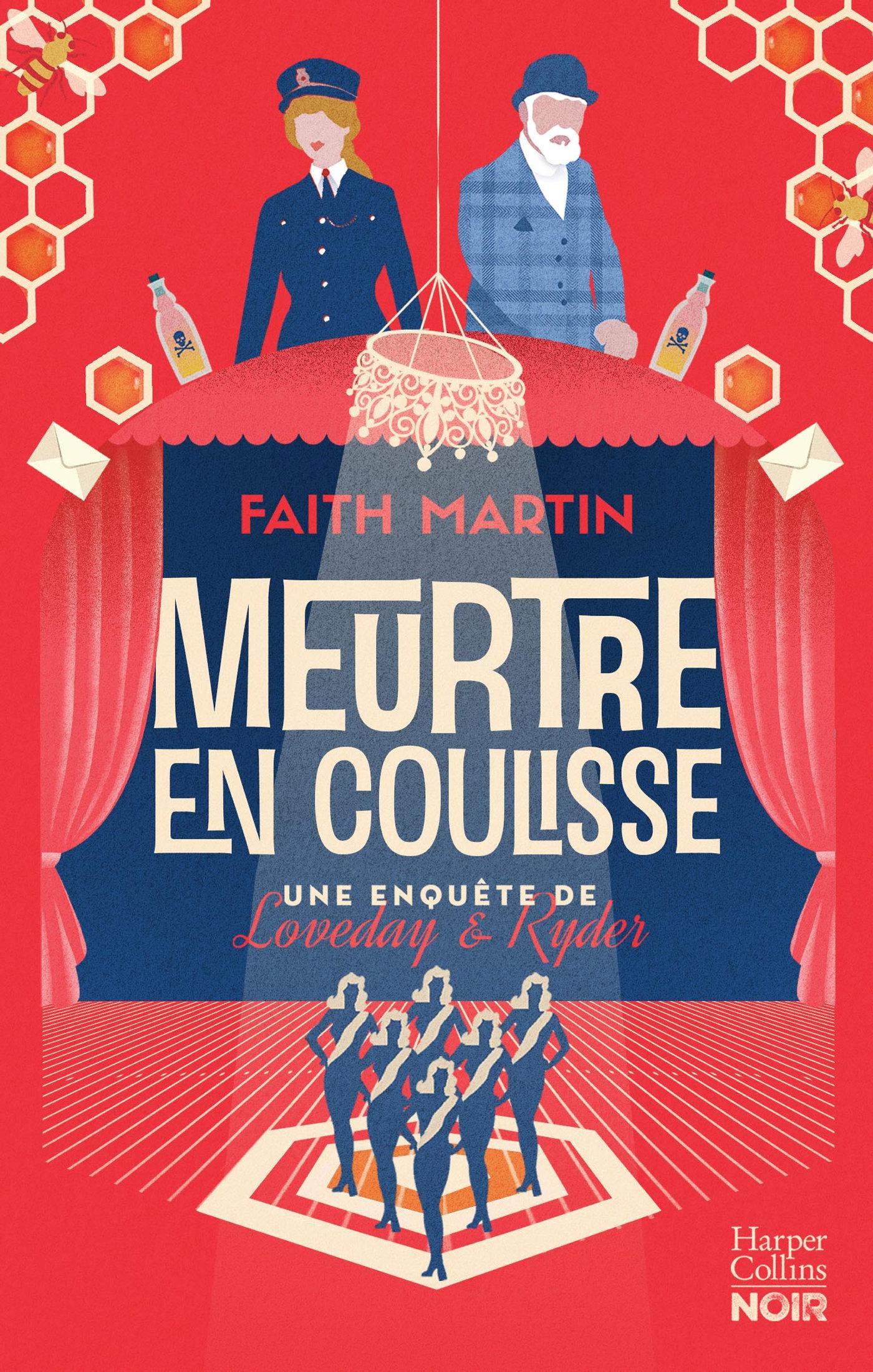 Meurtre en coulisse | Martin, Faith. Auteur