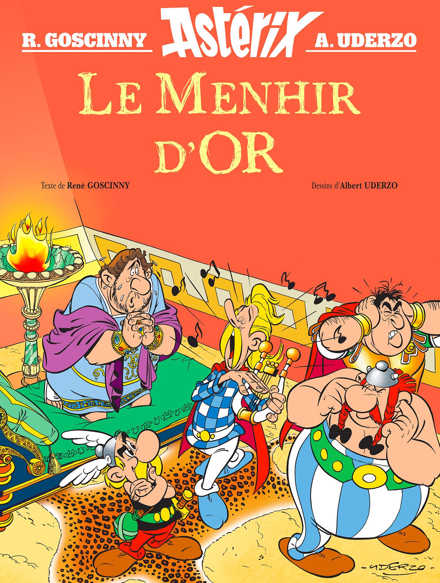 Le Menhir d'Or | Goscinny, René. Auteur