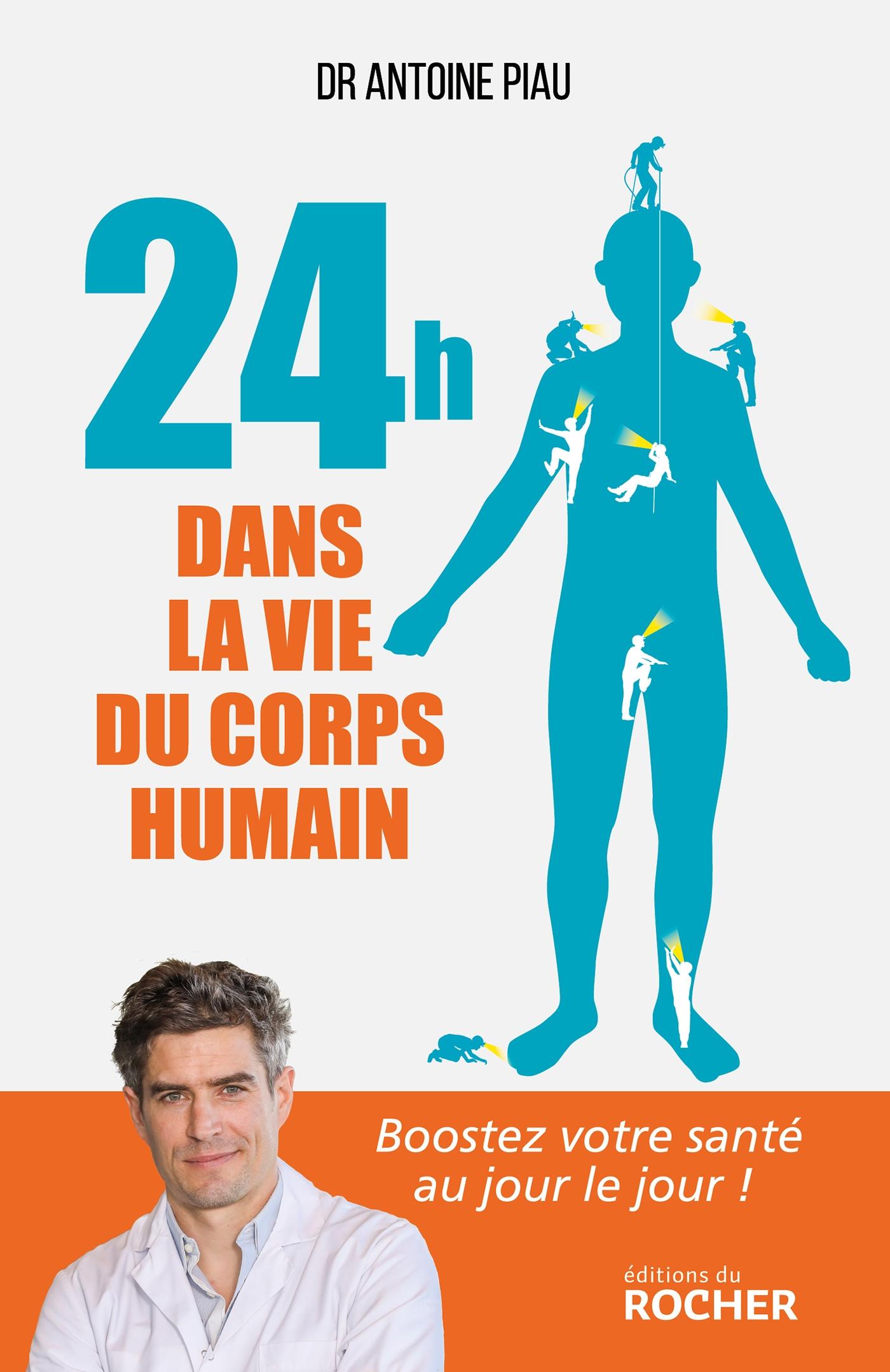 Image de couverture (24 heures dans la vie du corps humain)