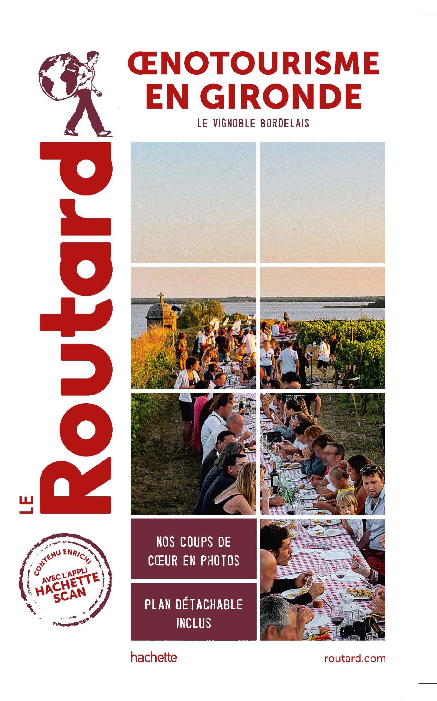 Guide du Routard oenotourisme en Gironde | COLLECTF, . Auteur