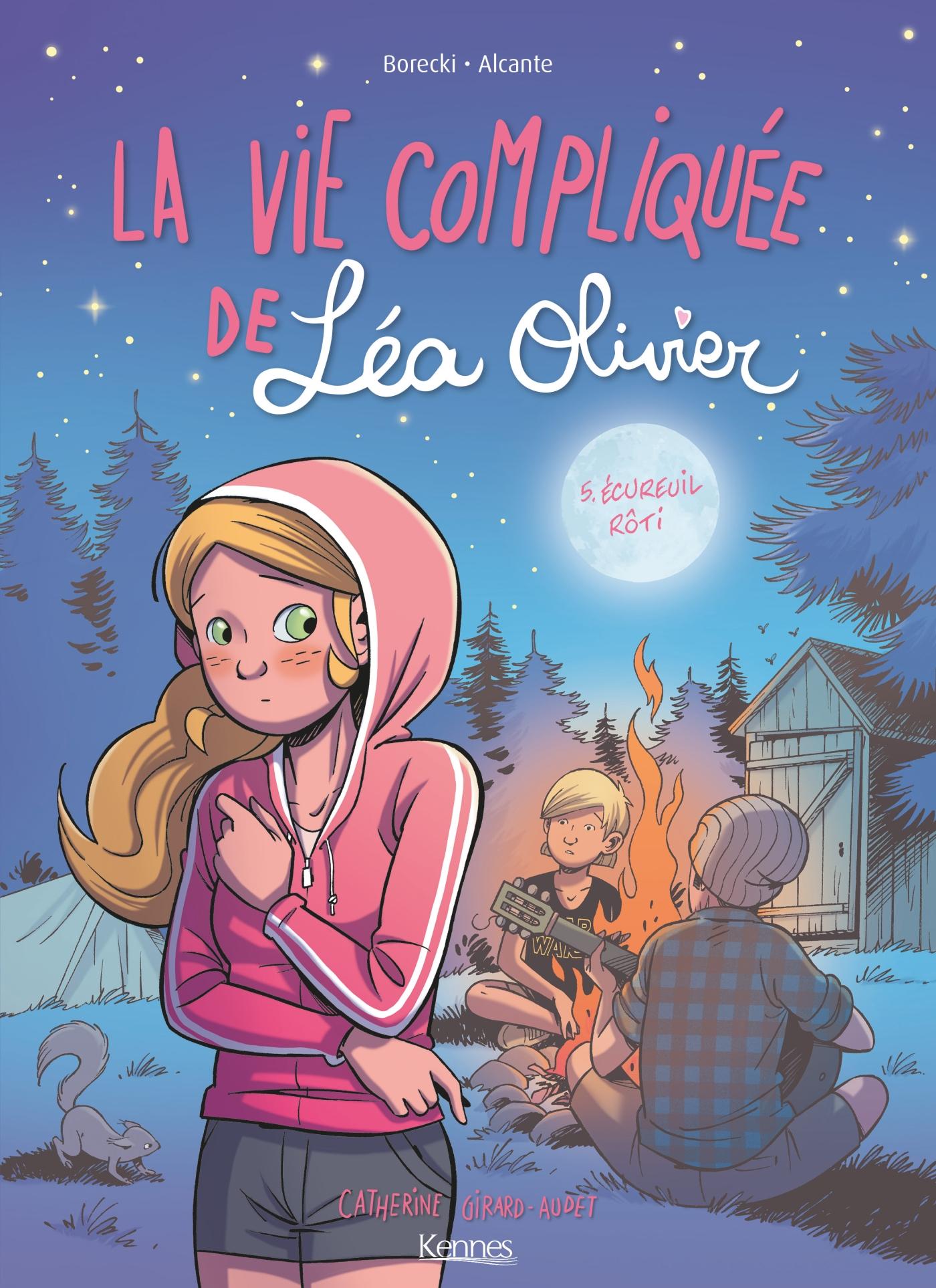 La Vie compliquée de Léa Olivier BD T05   Alcante, . Contributeur